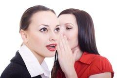 Dos mujeres beautful Imagen de archivo libre de regalías