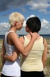 Dos mujeres jovenes Fotografía de archivo libre de regalías