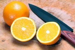 Dos naranjas Foto de archivo