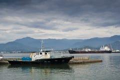 Dos naves Foto de archivo