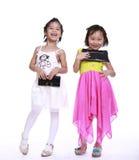 Dos niñas adorables Imagenes de archivo