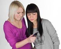 Dos novias adolescentes Fotos de archivo libres de regalías