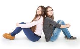 Dos novias jovenes Imagen de archivo libre de regalías
