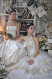 Dos novias jovenes Foto de archivo libre de regalías
