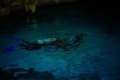 Dos Ojos de Cenote Fotos de Stock Royalty Free