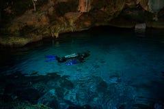 Dos Ojos de Cenote Imagem de Stock Royalty Free