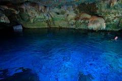 DOS Ojos di Cenote fotografia stock libera da diritti