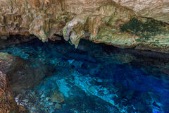 DOS Ojos di Cenote Fotografia Stock