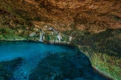 DOS Ojos di Cenote Fotografie Stock