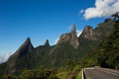 DOS Orgaos Brésil de Serra de parc national photographie stock libre de droits