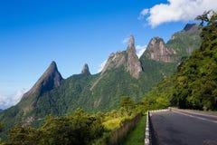 DOS Orgaos Brésil de Serra de parc national images stock