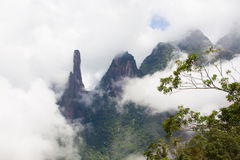 Dos Orgaos Brasil de Serra do parque nacional imagem de stock