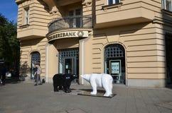 Dos osos Fotografía de archivo libre de regalías