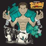 DOS Palmares Zumbi ηρώων Capoeira Στοκ φωτογραφίες με δικαίωμα ελεύθερης χρήσης