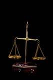 Dos Pan Balance Imágenes de archivo libres de regalías