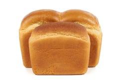 Dos panes de pan Fotografía de archivo libre de regalías