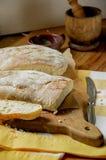 Dos panes de pan Imagen de archivo libre de regalías