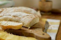 Dos panes de pan Fotos de archivo