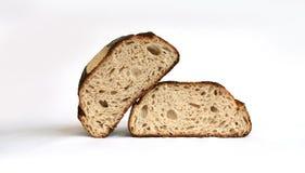Dos panes de pan Foto de archivo libre de regalías