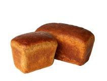 Dos panes de pan de centeno Fotografía de archivo libre de regalías