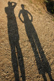 Dos personas Fotos de archivo