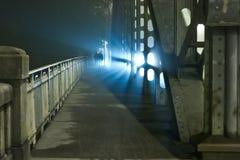 Dos personas en la noche Imágenes de archivo libres de regalías