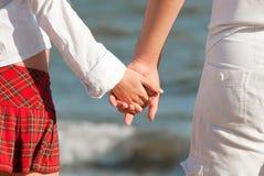 Dos personas jovenes en amor Fotos de archivo libres de regalías