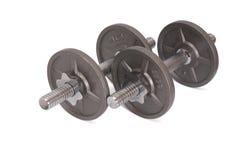 Dos pesas de gimnasia fotos de archivo libres de regalías