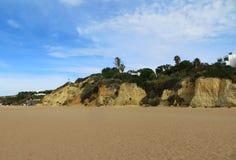 Dos Pescadores do Praia, Albufeira, Portugal Imagem de Stock Royalty Free
