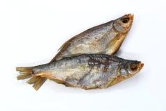Dos pescados secados de la brema Imágenes de archivo libres de regalías