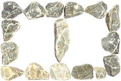 Dos piedras del marco Imagen de archivo libre de regalías