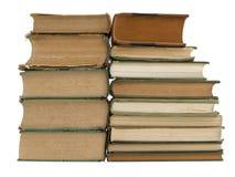 Dos pilas de libros Imágenes de archivo libres de regalías