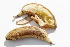 Dos plátanos maduros imagen de archivo