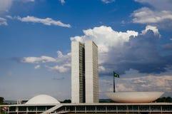 Dos Poderes do cio do ¡ de Palà em Brasília Imagens de Stock