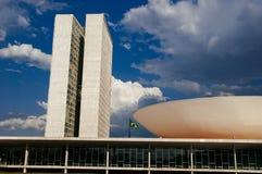 DOS Poderes för Palà ¡ cio i Brasilia Arkivfoto