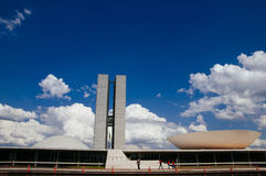 Dos Poderes van Palá cio in Brasilia Royalty-vrije Stock Afbeelding