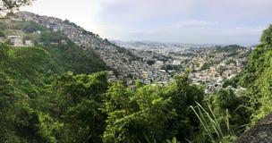Dos Prazeres van Favelamorro in Rio de Janeiro stock foto