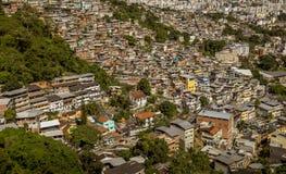 Dos Prazeres van Favelamorro in Rio de Janeiro, Brazilië royalty-vrije stock afbeeldingen
