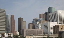 Dos prédios de escritórios baixa moderna dentro de Houston Imagem de Stock