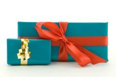 Dos presentes fotos de archivo libres de regalías