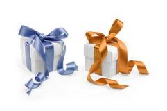 Dos presentes Fotografía de archivo libre de regalías