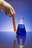 Dos productos químicos Imagen de archivo libre de regalías
