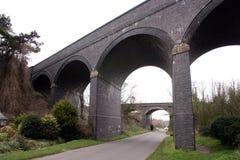 Dos puentes Fotografía de archivo