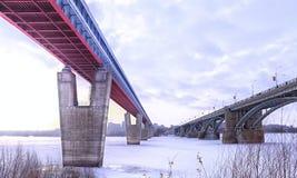 Dos puentes Imagenes de archivo
