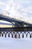 Dos puentes Foto de archivo