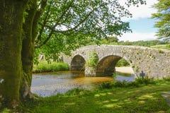 Dos-puentes Dartmoor Devon England Reino Unido Foto de archivo libre de regalías