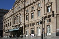 Dos puntos de Theatro en Buenos Aires Imagen de archivo libre de regalías