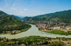 Dos ríos Imagenes de archivo