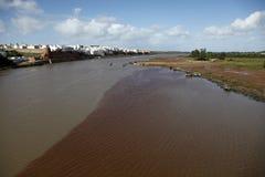 Dos ríos Fotos de archivo libres de regalías