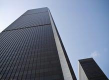 Dos rascacielos Foto de archivo libre de regalías